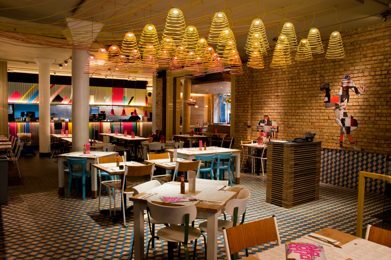 Wahaca soho for Cafe de jardin in covent garden